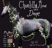 ~Mythril~ Chantilly Rose Drape: Pegasus