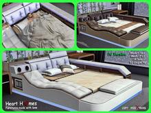 <Heart Homes> Modern Multimedia Bed (PG)