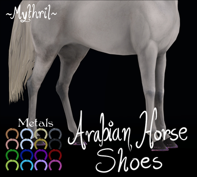 ~Mythril~ Arabian Horse Shoes