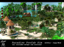 BD/Inkme  Paradise Prefab Sim(Instant Sim)