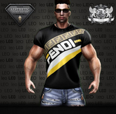 AESTHETIC _ LEO _T-Shirt _ FENDE ROMA