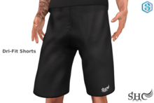 SH Dri-Fit Shorts [Sig-Gianni] BLK