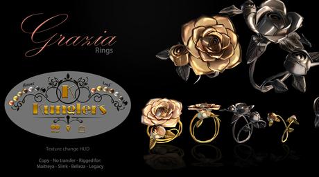 KUNGLERS - Grazia rings