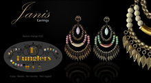 KUNGLERS - Janis earrings
