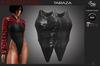 METAPHOR-Taraza Bodysuit Black-Maitreya