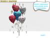 BMC632 - HAPPY BIRTHDAY BALLOONS - WITH STREAMERS.