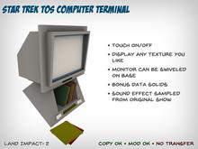 Star Trek Computer Terminal (TOS)
