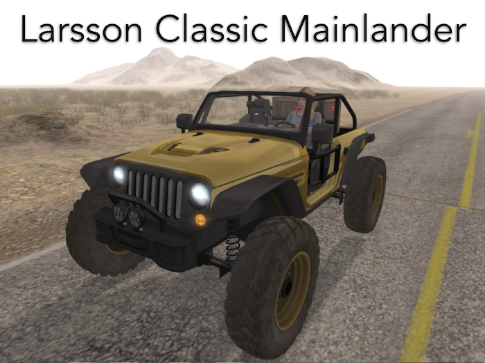 Amazing Mainlander Jeepster Off-Road - GTFO! Ready