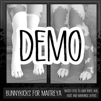 [TJR] BUNNYKICKS [Maitreya] [FIT DEMO]