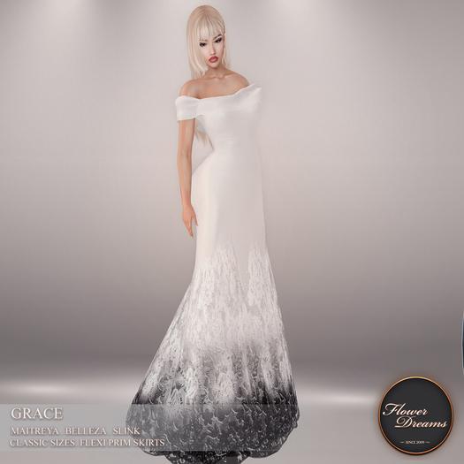 .:FlowerDreams:. Grace - white