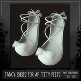 [TJR] [Lilly] Shoes for Feety Peets (bagged)