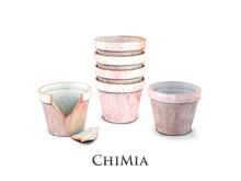 ChiMia:: White Plant Pot