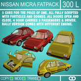 Nissan Micra Fatpack