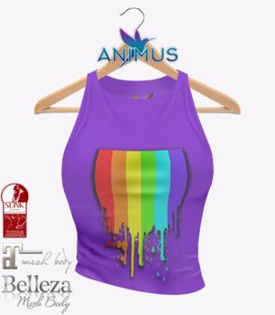 ANIMUS - Pride Tank Top - Purple