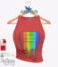 ANIMUS - Pride Tank Top - Red