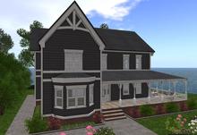 **SALE 50% OFF**D-VINE DESIGNS BELLISSERIA VICTORIAN HARDY ADD ON-a porch rails sidewalk landscape 41li