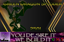 Buiding Desires Dragon Statue Sploder Green, By Dia  (Boxed)