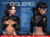 GRAVES Bolero - leather latex Mesh Jacket for Maitreya, Slink, Belleza, Tonic, EBody, TMP...