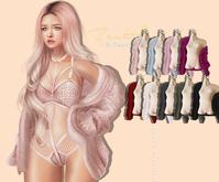=Zenith=Off Shoulder Faux Fur Coat (ALL)Maitreya/Legacy