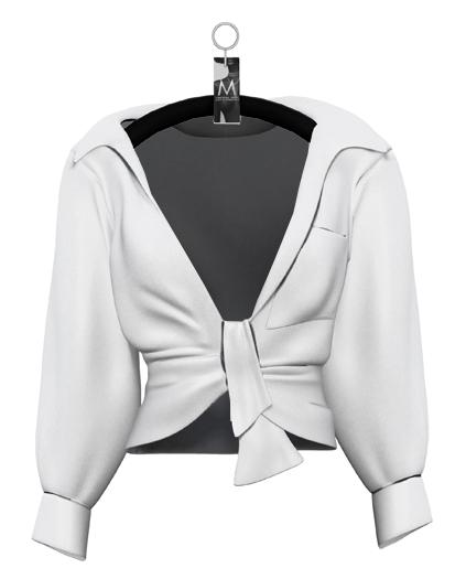 Bahia Oversized Shirt — Dove