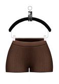 Elyse Knit Shorts — Cocoa