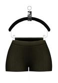 Elyse Knit Shorts — Hunter