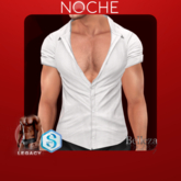 NOCHE. Angel open shirt White