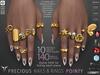 **RE** Precious Nails & Rings - Pointy - Maitreya, Vista, TuTy, SLink, Belleza, Alice, Legacy
