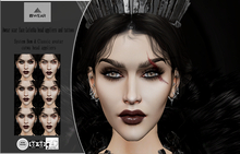 Awear scar face Lelutka head appliers and tattoos