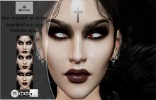Awear reven dark eye tattoos appliers lelutka BOM Reddy