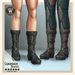 Wicca's Originals - Guardian Boots MALE (ADD)