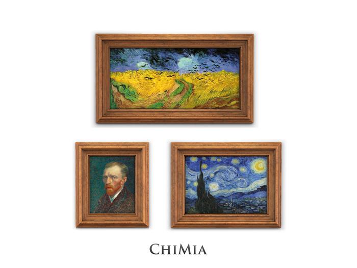 ChiMia:: Art Frames [wood]