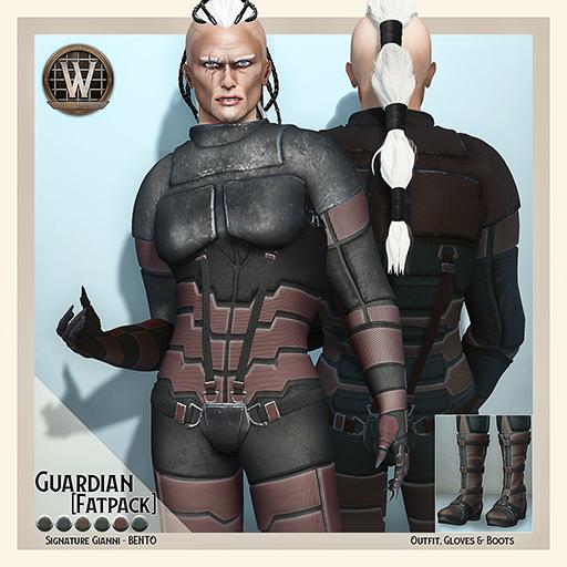 Wicca's Originals - Guardian [Fatpack] MALE (ADD)
