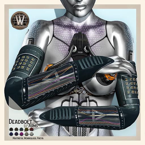 Wicca's Originals - Deadbolt Arms (female) (ADD)