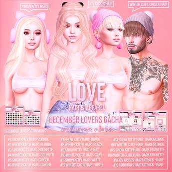 Love [December Lovers] Gacha DEMO