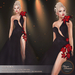.:FlowerDreams:.Elenora - black applier gown