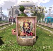 *UI* India Fountain smiling Budda v