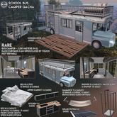 [Since1975] School Bus Camper - Kitchen