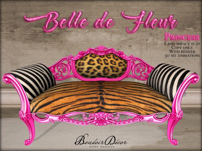 Boudoir-Belle de Fleur Sofa Princess