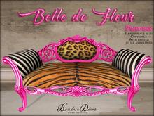 Belle de Fleur Sofa Princess