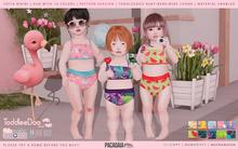 Pacagaia Kids - Sofia Bikini -TDB-BEBE-BEBECHONK- PATTERN -ADD-