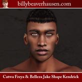 Catwa Freya & Belleza Jake Shape Kendrick