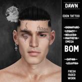 [DAWN] - Eden Face Tattoo