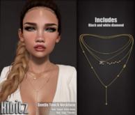 Kibitz - Gentle touch necklace - gold