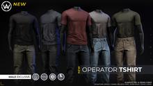 [WAZ] Operator TShirt (White) BOXED [Add/Rezz]