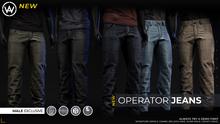 [WAZ] Operator Jeans (Fatpack)
