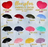 floorplan. umbrella gacha / merde yellow