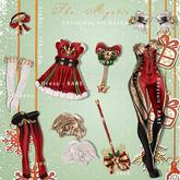 *The Mystic*Christmas elf Bodysuit (Red) Maitreya - RARE
