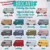brocante. delivery van gacha / movers