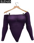 BUENO-Julia Bodysuit -Purple